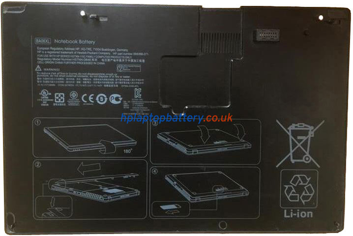 Battery for HP 696398-271 laptop