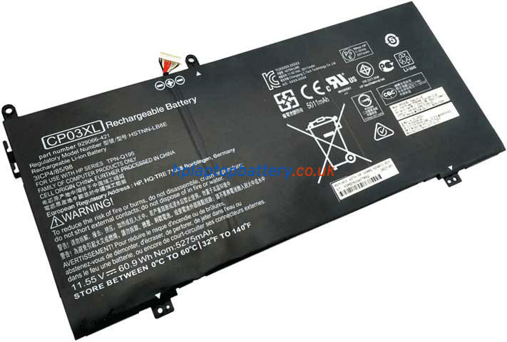 Battery for HP CP03XL laptop