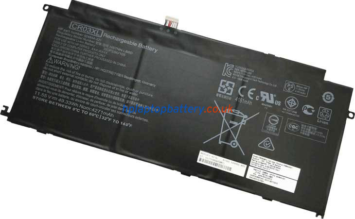 Battery for HP CR03XL laptop