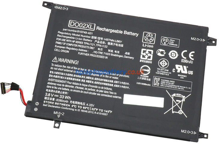 Battery for HP Pavilion X2 10-N106NA laptop