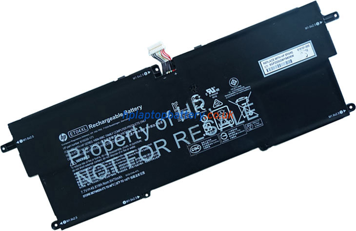 Battery for HP ET04XL laptop