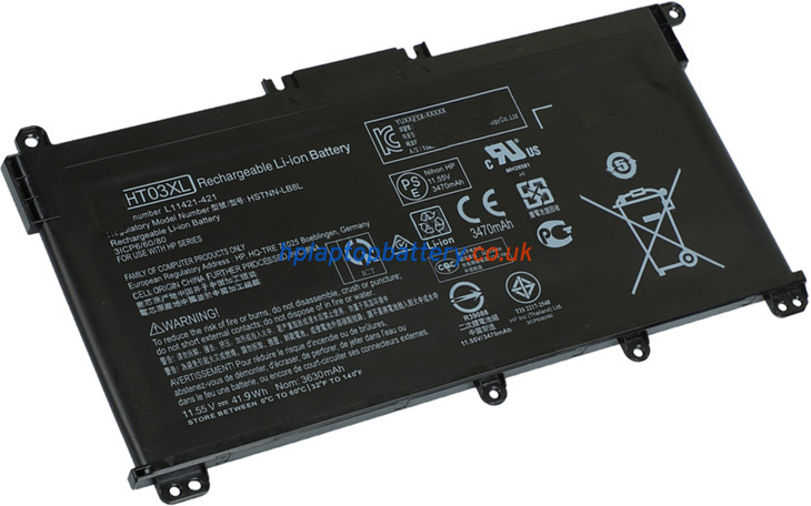 Battery for HP Pavilion 14-CE1001NA laptop