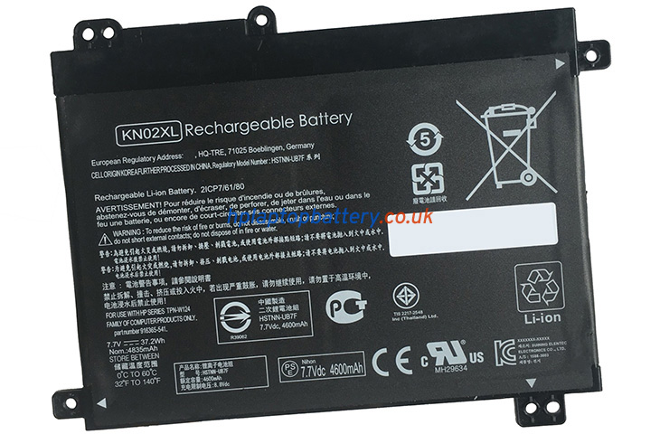 Battery for HP Pavilion X360 11-AD031TU laptop