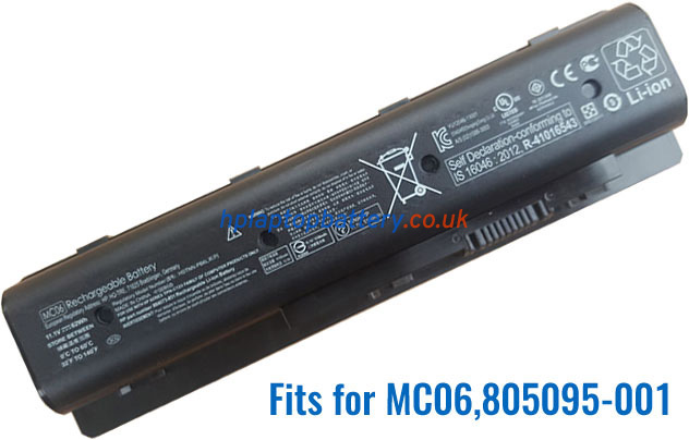 Battery for HP Envy 17-R107NA laptop