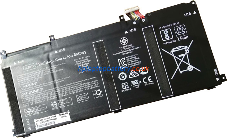 Battery for HP ME04XL laptop