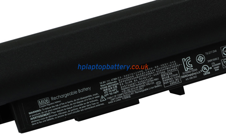 Battery for HP Pavilion 15-BA073NL laptop