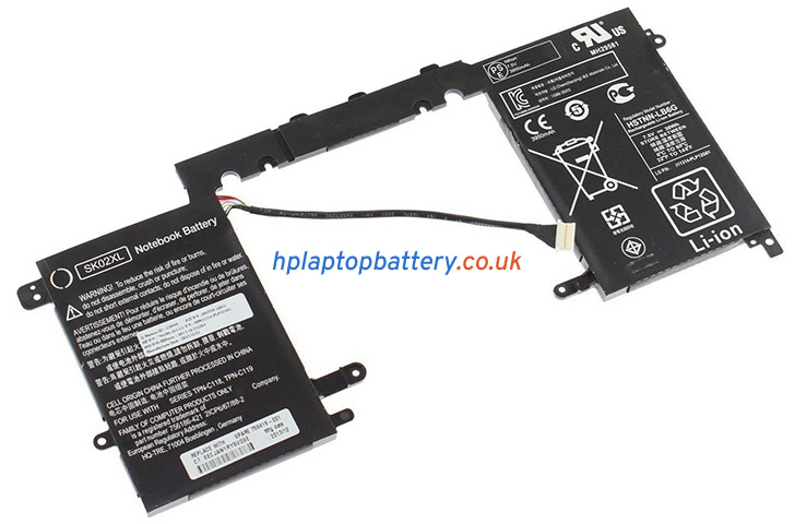 Battery for HP 756416-001 laptop