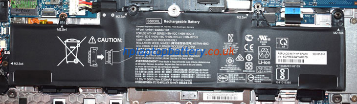Battery for HP SS03XL laptop