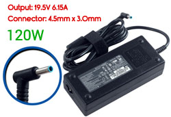 Replacement HP 19.5V 6.15A, 120W Ac Adapter