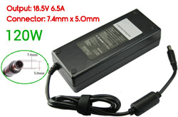 Replacement HP 18.5V 6.5A, 120W Ac Adapter