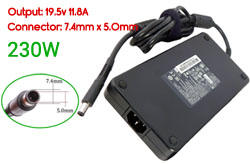Replacement HP 19.5V 11.8A, 230W Ac Adapter