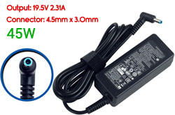 Replacement HP 19.5V 2.31A, 45W Ac Adapter